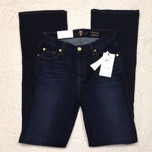 NWT LADIES 7 FOR ALL MANKIND JEANS